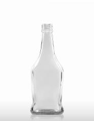 500 ml taillierte Kirschwasserflasche PP 31,5 deep weiß