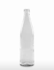 500 ml Limo-Flasche 28 MCA 7,5 R weiß