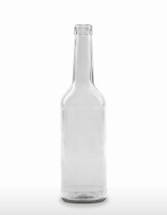 500 ml Straight Neck Bottle (Gradhals/Geradhals) PP 28 S flint