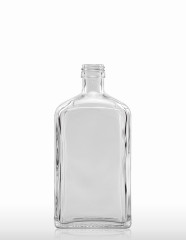 500 ml Syrup Bottle PP 28 S flint