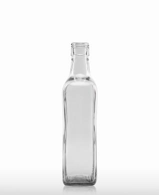 700 ml Amarettoflasche PP 31,5 deep weiß
