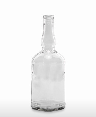 700 ml Bourbon Bottle 460 g BVP 31 H flint