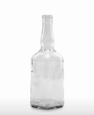 700 ml Bourbon Bottle 460 g BVP 31 H flint