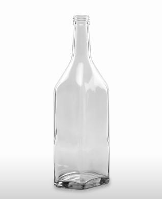 700 ml Kirschwasserflasche PP 28 S weiß