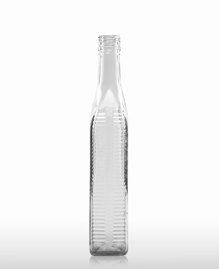700 ml Kirschwasser Bottle with relief PP 31.5 deep flint