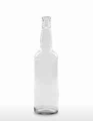 700 ml Kropfhalsflasche BVP 30 extra deep weiß