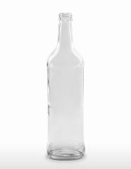 700 ml Pampasflasche PP 28 S weiß