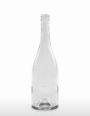 750 ml Burgundy Bottle Hugo BVS 30 H 60 flint