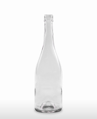 750 ml Burgundy Bottle Hugo BVS 30 H 60 flint
