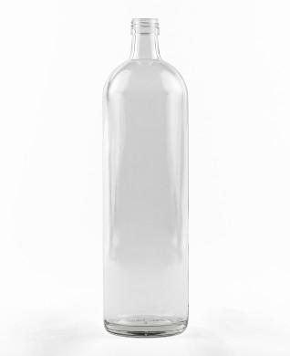 1000 ml glatte Krugflasche PP 28 S weiß