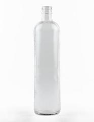 1000 ml granulierte Krugflasche PP 31,5 deep weiß