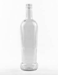 1000 ml konische Spirituosenflasche STC 31,5 H 44 weiß