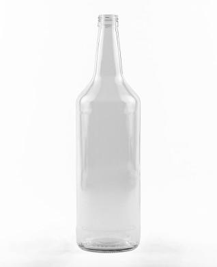 1000 ml Spirituosenflasche PP 28 S weiß