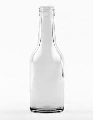 100 ml Gradhalsflasche PP 22 S weiß