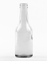 100 ml Straight Neck Bottle PP 22 S flint