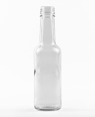 200 ml Gradhalsflasche MCA 7,5 R TR weiß