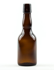 330 ml Kropfhals Beer Bottle swing top amber refillable