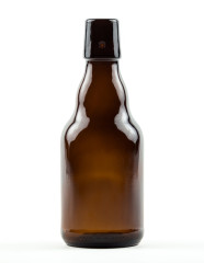 330 ml Steinie Bottle swing top amber refillable