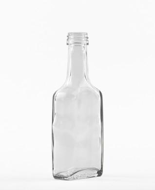 40 ml glatte Kirschwasserflasche PP 18 S weiß