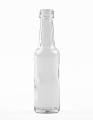 40 ml Straight Neck Bottle PP 18 S flint