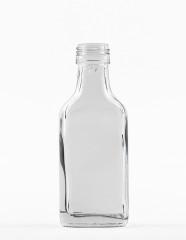 40 ml Taschenflasche PP 22 S weiß
