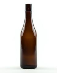 500 ml Lochmund-Bierflasche braun Mehrweg