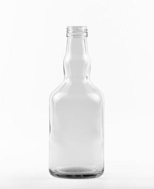 500 ml Whiskyflasche PP 31,5 S weiß