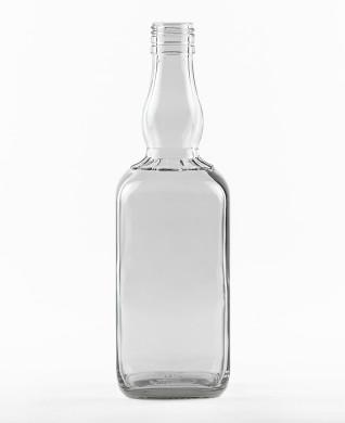 700 ml Bourbonflasche BVP 31 H weiß
