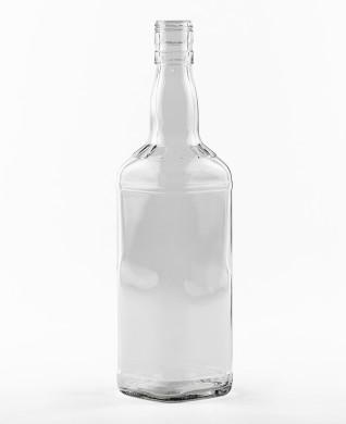 700 ml Whiskyflasche BVP 30 EH weiß