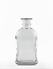 700 ml Zierflasche Kork weiß