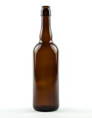 750 ml Belgien-Bierflasche BV-CC-Kombi braun Mehrweg