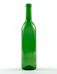 750 ml Bordeauxflasche 310 mm Band grün