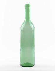750 ml Bordeauxflasche 310 mm Band lichtgrün
