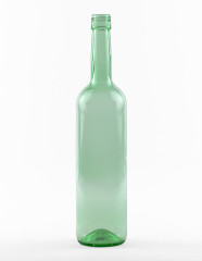 750 ml Bordeauxflasche 327,5 mm BVS 30 H 60 lichtgrün