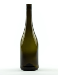 750 ml Burgunderflasche Hugo BVS 30 H 60 antikgrün