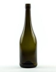 750 ml Burgundy Bottle Hugo BVS 30 H 60 olive green