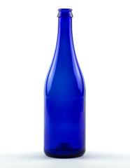 750 ml Champagne Bottle Sekt KK blue