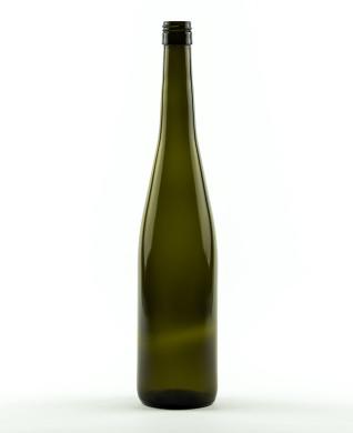 750 ml Rhine Wine Bottle 350 mm BVS 30 H 60 olive green