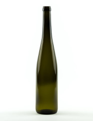 750 ml Rhine Wine Bottle 350 mm cork olive green