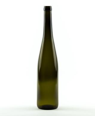 750 ml Rhine Wine Bottle 350 mm cork olive green