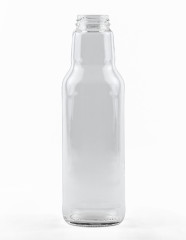 750 ml Softdrink-Flasche TO 43 weiß