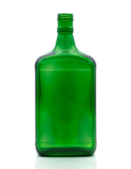 1000 ml Amaretto Bottle PP 30 extra deep green