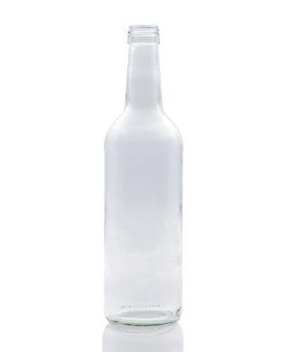 500 ml Gradhals-Mehrzweck-Flasche PP 28 S weiß